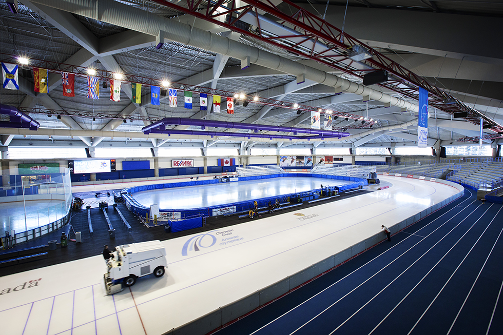 Olympic Oval at the University of Calgary   DO YYC