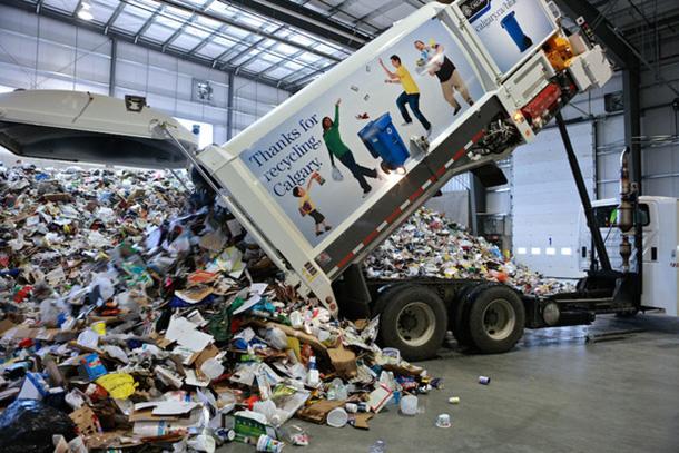 Cascades Recovery+  (Calgary's Materials Recycling Facility)